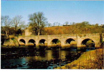Bridge over the River Crana